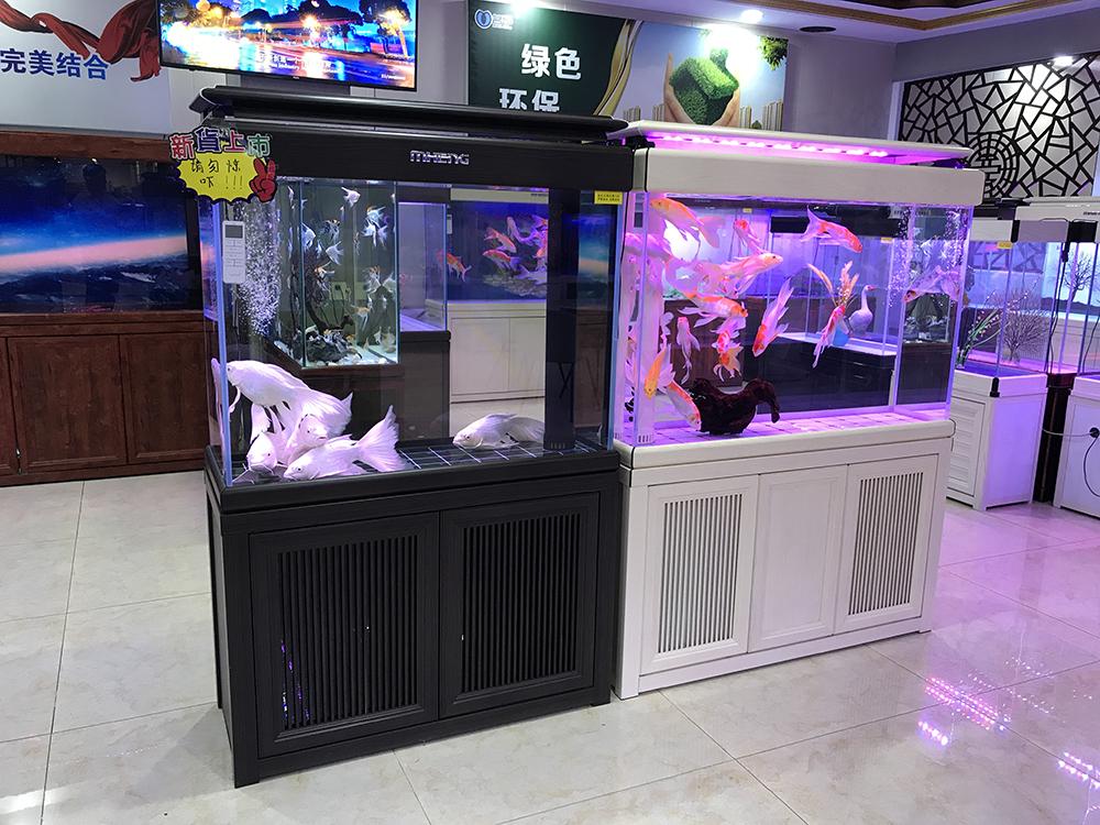 名亨品牌鱼缸水族馆加盟店上海线下店展示