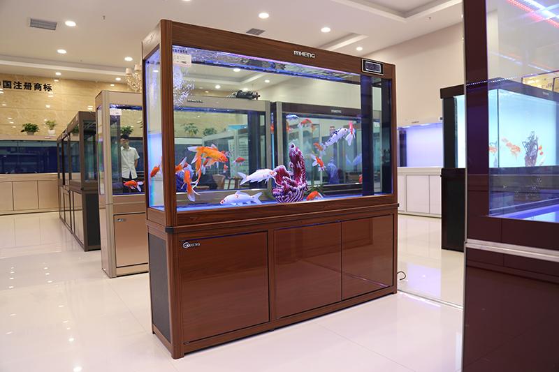 名亨生态水族箱品牌鱼缸郑州回忆系列展出