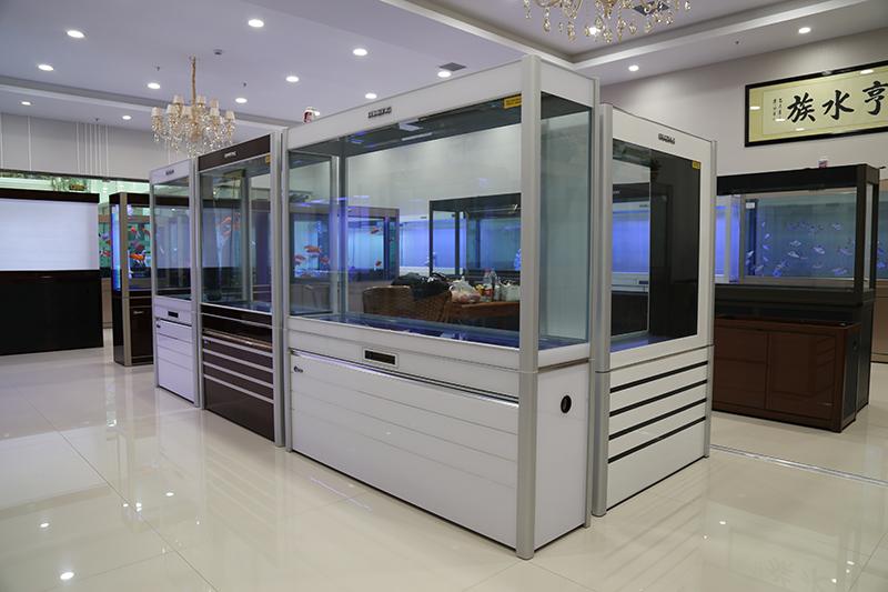 名亨生态水族箱品牌鱼缸郑州经典系列展出