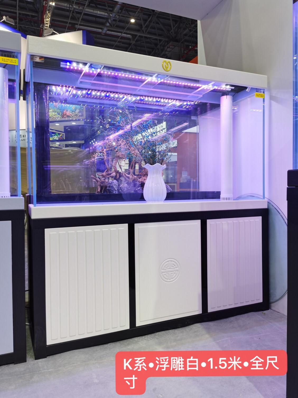 河北鱼缸批发市场名亨水族用品办公室家用1.8米2米